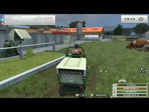 #6 Farming simulator multi | L'élevage Allemand | Sur la map Herrenhausen!
