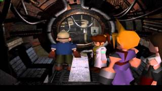 Final fantasy 7 : pc : part 118 : Cid in space