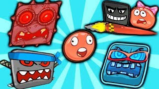 RED BALL 4 The Full Walkthrough movie of the game RED BALL, the new series of children\'s video #FGTV