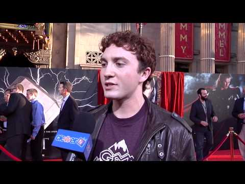 Daryl Sabara Talks 'Spy Kids 4' At 'Thor' Movie Premiere