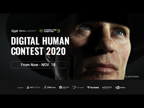 Digital Human Contest 2020 |  Character Creator | Groundbreaking Tools Enliven Character Art