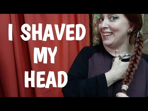 I SHAVED MY HEAD! FROM REALLY LONG TO BALD! from YouTube · Duration:  22 minutes 32 seconds
