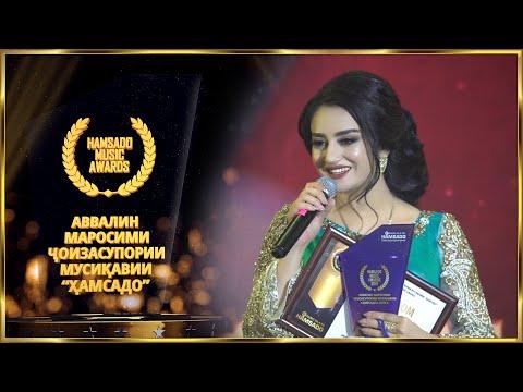 10 Fotima Mashrabova - Hamsado Music Awards