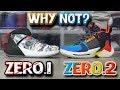 Jordan WHY NOT ZERO.1 & ZERO.2 Comparison!