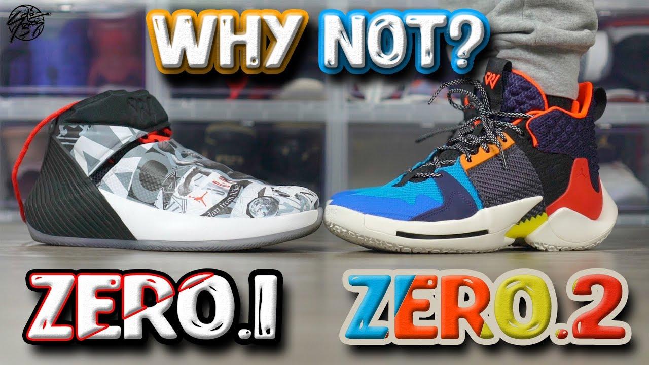 879c22d9b47164 Jordan WHY NOT ZERO.1   ZERO.2 Comparison! - YouTube