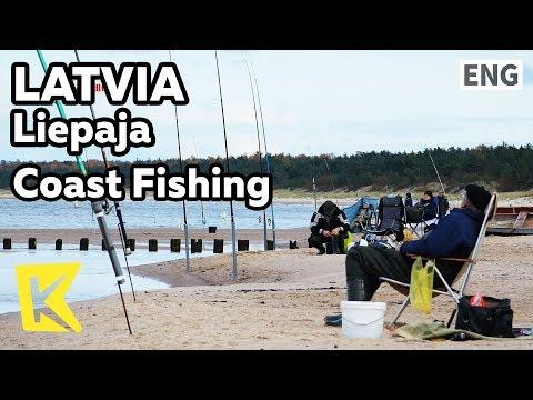 【K】Latvia Travel-Liepaja[라트비아 여행-리예파야]발트해 해안낚시/Coast/Fishing/Baltic