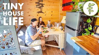Family of 3 Downsize to a Mortgage-Free TINY HOUSE LIFE