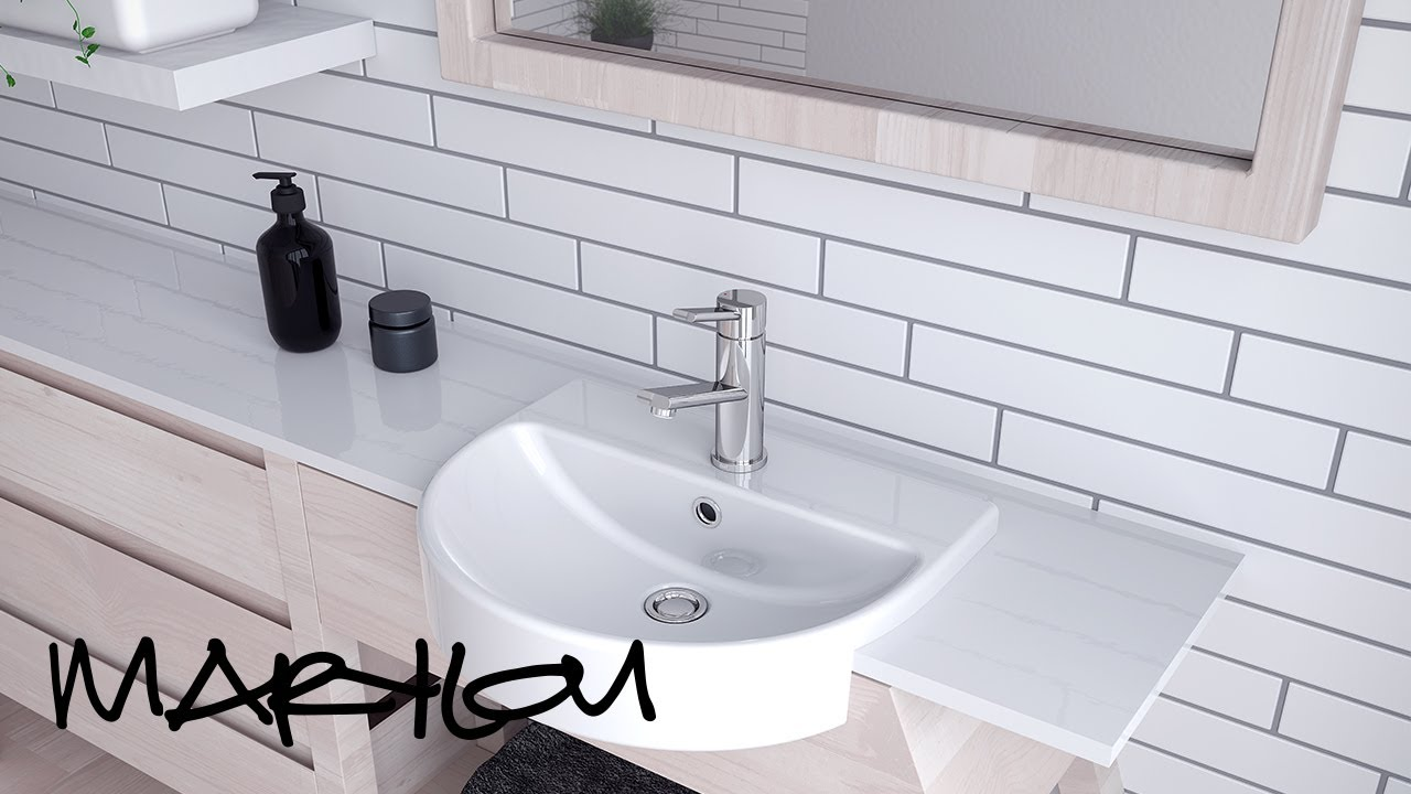 2017 Bathroom Design Trends with Marylou Paino - Nordic/Scandinavian ...