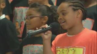 "PS22 Chorus ""BLEEDING LOVE"" Leona Lewis"