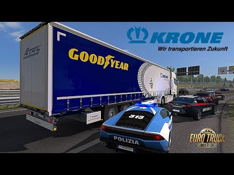 ETS2 I New Krone Trailer 🚚 A World of Trucks Event! 🔵 #702 Euro-Tour [Deutsch/HD]