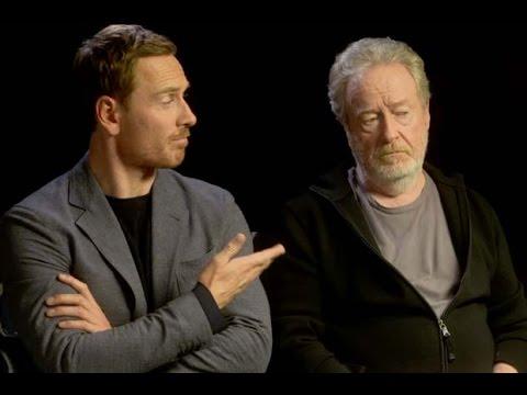 Talking Dangers of AI - Alien: Covenant's Ridley Scott and Michael Fassbender