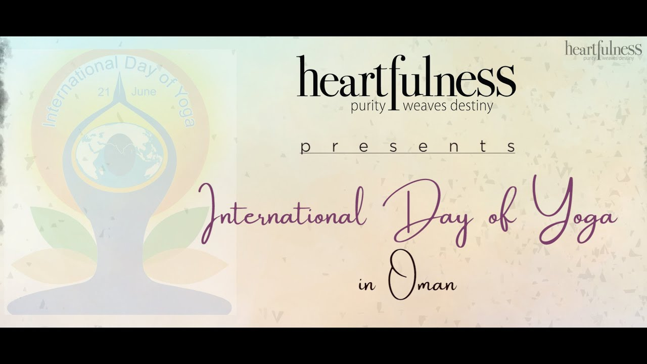 Sharing is Caring | @Heartfulness Meditation Team OMAN & BAHRAIN | International Day of YOGA 2020