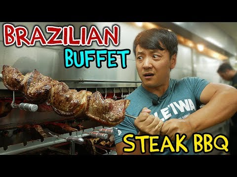 All You Can Eat BRAZILIAN STEAK BBQ Buffet in New York