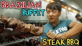All You Can Eat BRAZILIAN STEAK BBQ Buffet in New York thumbnail