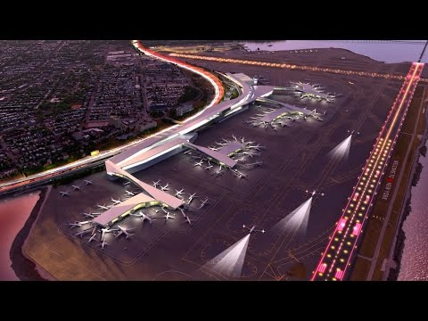 The vision for the comprehensive redesign of LaGuardia Airport