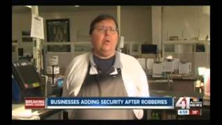 Businesses Adding Security Systems   KSHB 5PM 1 14 15