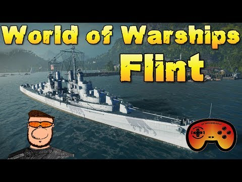 Die FLINT angespielt und vorgestellt - World of Warships - Premium Kreuzer Deutsch/German - Gameplay