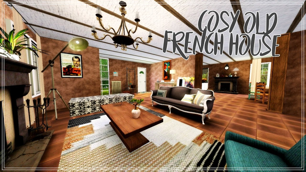 The Sims 3 : Speed Build | Cosy Old French House
