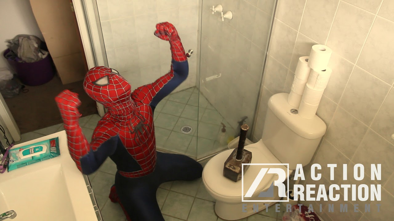 Spider Man Far From Home Thor S Hammer Prank Funny Videos