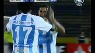 Deportivo Quito superó 1-0 a León de Huánuco en Copa Sudamericana