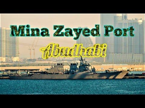 Mina Zayed Port @ Abudhabi