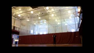WORLD RECORD JUGGLING 6 Ball Shower 135 Catches by Alex Rumford on 4 16 15