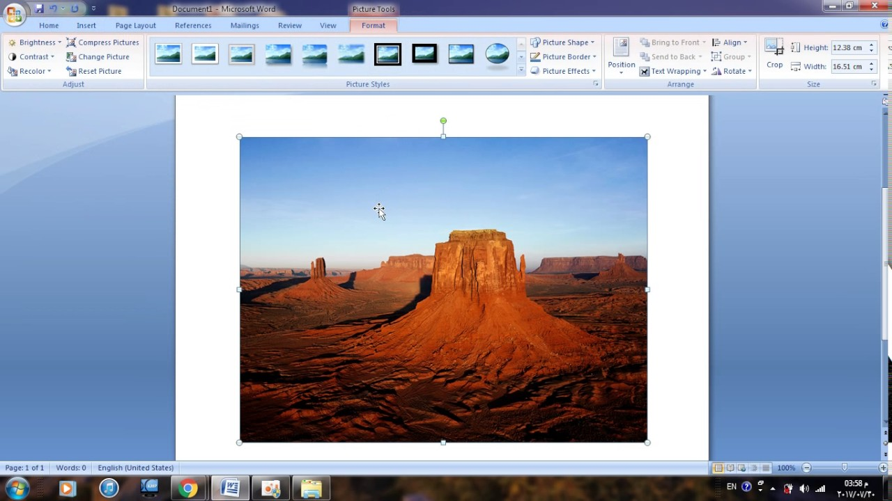 How To Change Color Pictures Black And White In Word