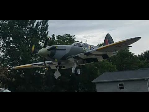 Horizon Hobby - Spitfire 1.2m - 4S Fathers Day Flight