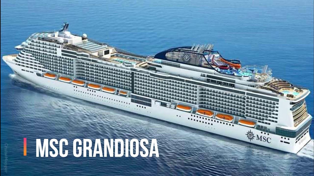 Crucero Mediterráneo MSC Grandiosa MAYO 2021 - YouTube