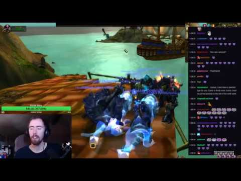 Asmongold Gets The Spectral Tiger TCG Mount From A Viewer