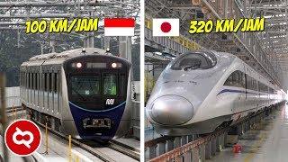 Begini Perbandingan MRT Indonesia Dan Negara Lain