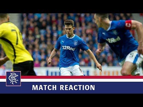 REACTION | Ryan Jack | Rangers 1-0 Progres Niederkorn