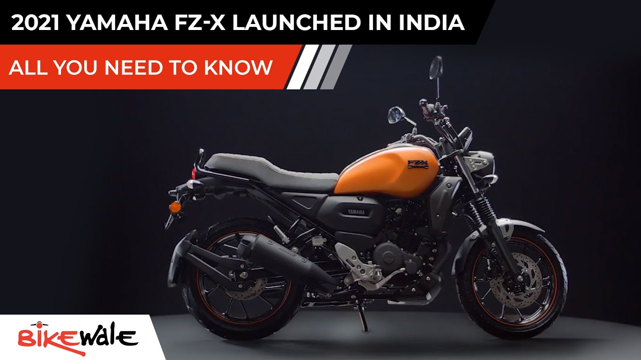 2021 Yamaha FZ-X Launched   ALL YOU NEED TO KNOW   XSR 155 Replacement For India   Price   BikeWale