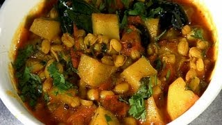 Mugachi Bhaji (sprouted Beans Vegetable) By Archana