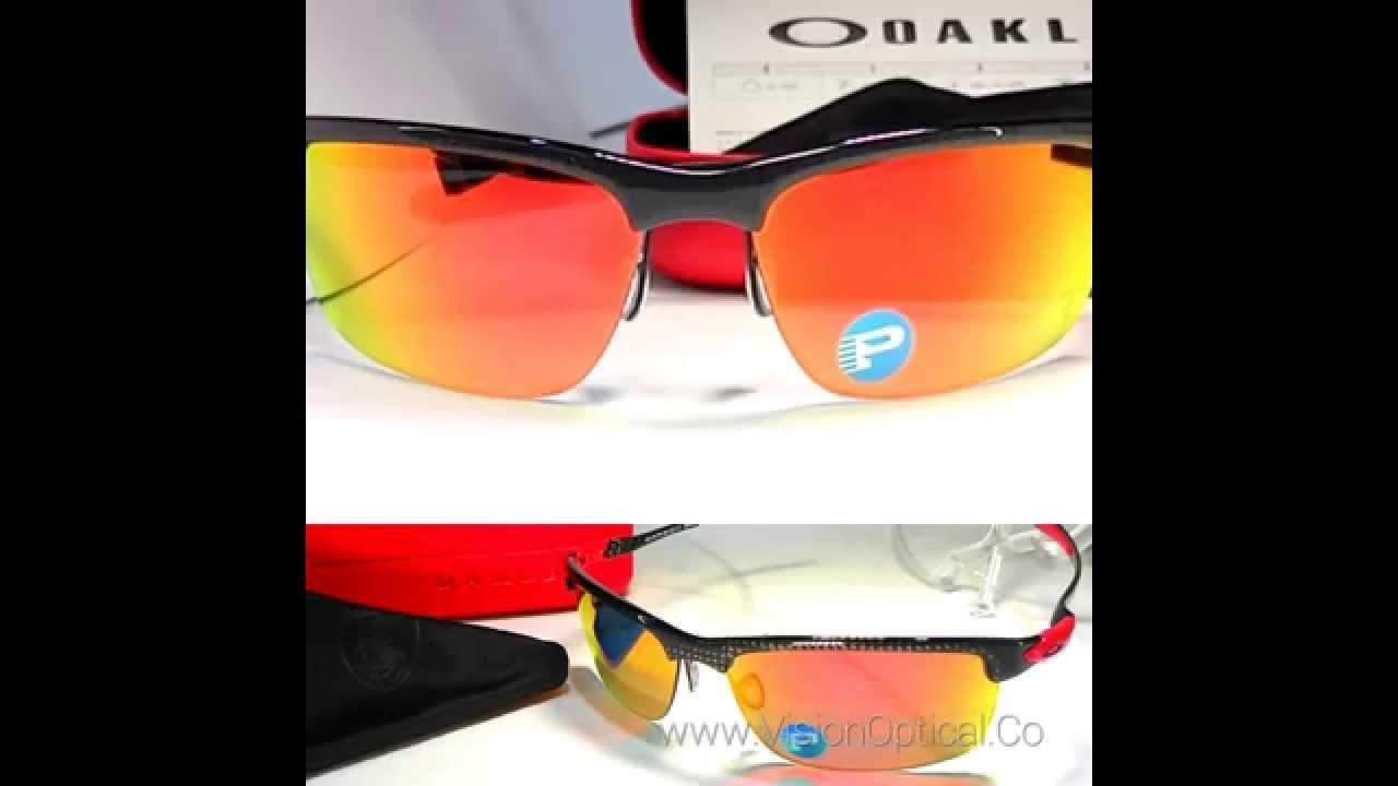 8d65c22e6b Oakley Carbon Blade Polarized Ferrari Collection - YouTube