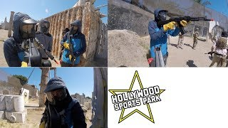 Airsoft Gameplay // Hollywood Sports Park