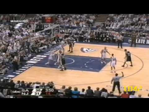 Tim Duncan: 2003 NBA Finals Highlights