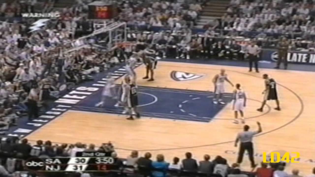 e75fce891dc Tim Duncan: 2003 NBA Finals Highlights - YouTube