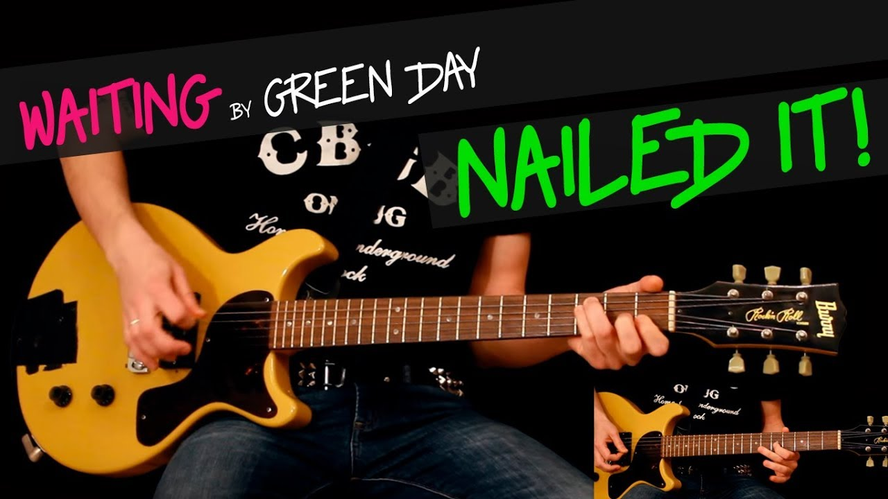 Waiting Green Day Guitar Cover By Gv Chords Youtube