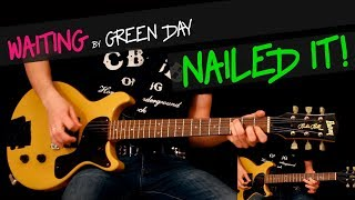 Waiting - Green Day guitar cover by GV + chords