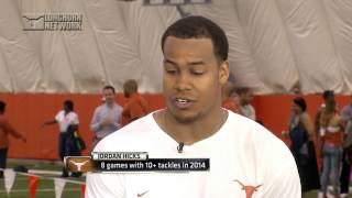 Jordan Hicks--LHN Pro day interview [April 28, 2015]