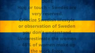 How to do business in Sweden!