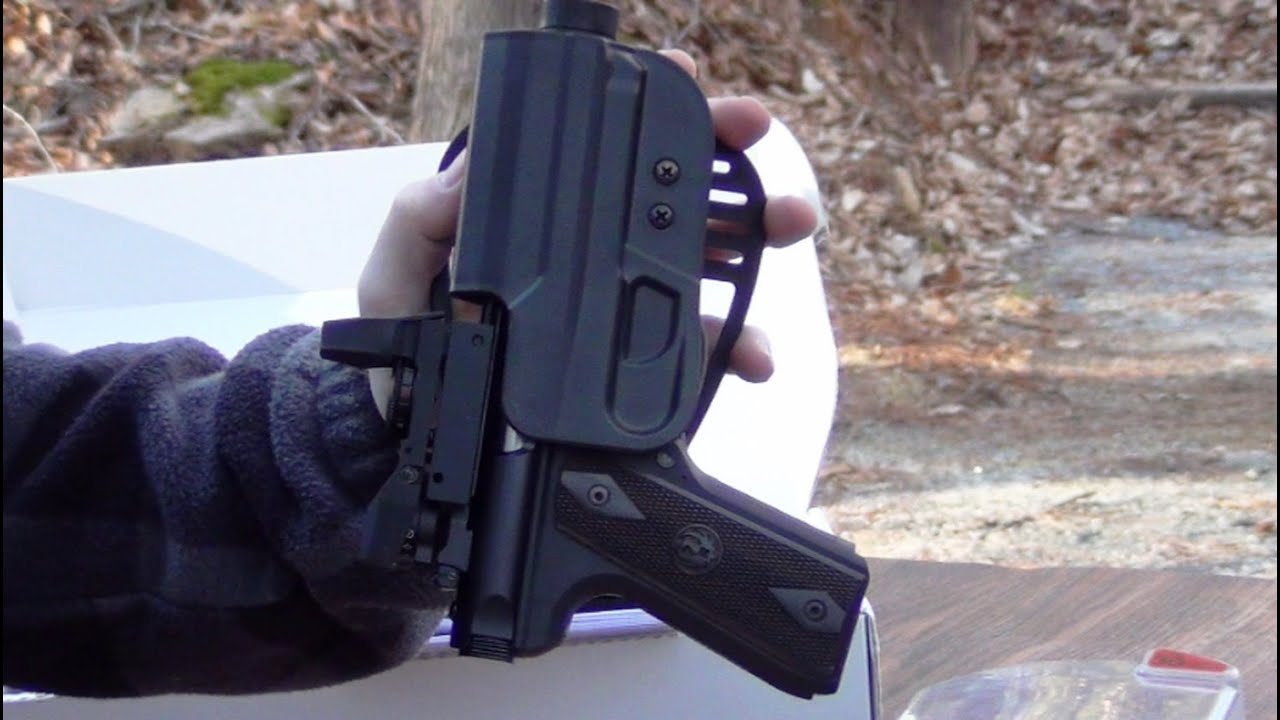 Paddle Holster for the Ruger 22/45 Lite