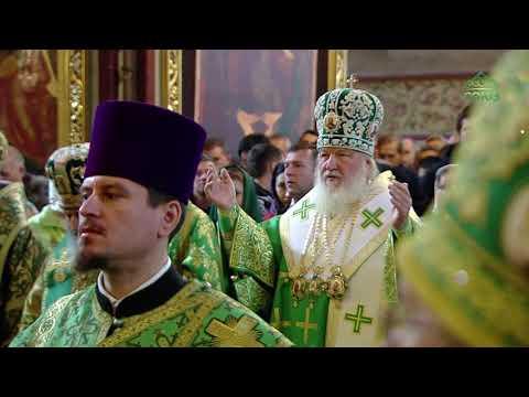 Божественная литургия, г. Сергиев Посад, 8 октября 2019 г.