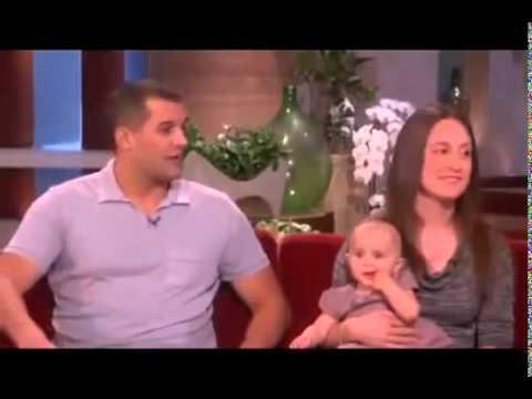 ▶ Ellen Meets an Emotional Baby on The Ellen DeGeneres Show 2013   YouTube