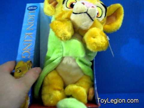 Lion King Toy Reviews Roaring Baby Simba Youtube