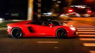 Nghe tiếng pô IPE của Lamborghini Aventador Roadster khi đề pa | XSX