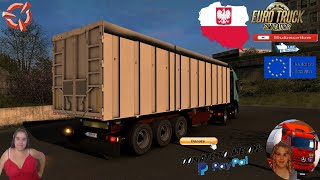 "Euro Truck Simulator 2 (1.39 Beta)   Fruehauf VFK Ownable Tipper Trailer by Soundwave2142 v1.0.0 Delivery to Katovice Poland Revisiting Iveco Stralis by Fernando SB and SCS Animated gates in companies v3.7 [Schumi] Real Company Logo v1.0 [Schumi] Company addon v1.8 [Schumi] Trailers and Cargo Pack by Jazzycat Motorcycle Traffic Pack by Jazzycat FMOD ON and Open Windows Naturalux Graphics and Weather Spring Graphics/Weather v3.6 (1.38) by Grimes Test Gameplay ITA Europe Reskin v1.0 + DLC's & Mods  For Donation and Support my Channel https://paypal.me/isabellavanelli?loc... #JoeBidenforPresident  SCS Software News Iberian Peninsula Spain and Portugal Map DLC Planner...2020 https://www.youtube.com/watch?v=NtKeP... Euro Truck Simulator 2 Iveco S-Way 2020 https://www.youtube.com/watch?v=980Xd... Euro Truck Simulator 2 MAN TGX 2020 v0.5 by HBB Store https://www.youtube.com/watch?v=HTd79...  #TruckAtHome #covid19italia Euro Truck Simulator 2    Road to the Black Sea (DLC)    Beyond the Baltic Sea (DLC)   Vive la France (DLC)    Scandinavia (DLC)    Bella Italia (DLC)   Special Transport (DLC)   Cargo Bundle (DLC)   Vive la France (DLC)    Bella Italia (DLC)    Baltic Sea (DLC) Iberia (DLC)   American Truck Simulator New Mexico (DLC) Oregon (DLC) Washington (DLC) Utah (DLC) Idaho (DLC) Colorado (DLC)     I love you my friends Sexy truck driver test and gameplay ITA  Support me please thanks Support me economically at the mail vanelli.isabella@gmail.com  Roadhunter Trailers Heavy Cargo  http://roadhunter-z3d.de.tl/ SCS Software Merchandise E-Shop https://eshop.scssoft.com/  Euro Truck Simulator 2 http://store.steampowered.com/app/227... SCS software blog  http://blog.scssoft.com/  Specifiche hardware del mio PC: Intel I5 6600k 3,5ghz Dissipatore Cooler Master RR-TX3E  32GB DDR4 Memoria Kingston hyperX Fury MSI GeForce GTX 1660 ARMOR OC 6GB GDDR5 Asus Maximus VIII Ranger Gaming Cooler master Gx750 SanDisk SSD PLUS 240GB  HDD WD Blue 3.5"" 64mb SATA III 1TB Corsair Mid Tower Atx Carbide Spec-03 Xbox 360 Controller Windows 10 pro 64bit"