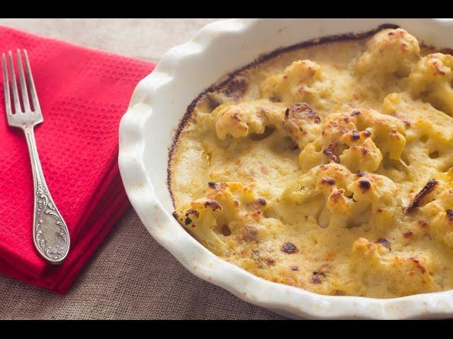 ثلث ساعة -  الجزء الثاني: شوربة كريمة القرنبيط - قرنبيط بصلصة الجبنة والثوم المشوي