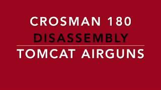 Crosman 180 disassembly